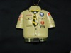 Resin Boy Scout Shirt Christmas Ornament