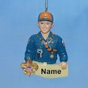 Tiger Cub Scout Ornament for Personalization