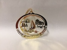 Brass Sailboat Ornament