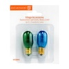 Village Replacement Light Bulbs, Blue and Green