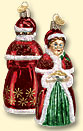 Mrs. Claus Old World Ornament