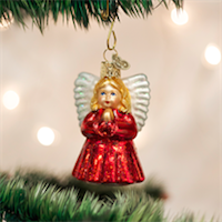 Baby Angel Old World Ornament