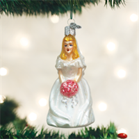 Bride - Blonde Old World Ornament
