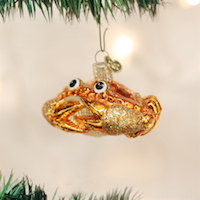 Crab Louie Old World Ornament