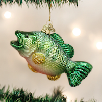 Largemouth Bass Old World Ornament