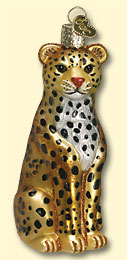 Leopard Old World Ornament