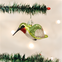 Hummingbird Old World Ornament