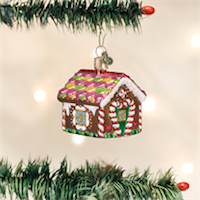 Gingerbread House Old World Ornament