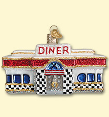 Diner Old World Ornament