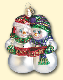 Best Friends Old World Ornament
