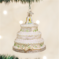Wedding Cake Old World Ornament