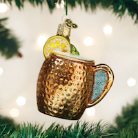 Moscow Mule Mug Old World Ornament