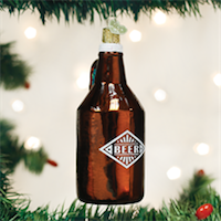 Beer Growler Old World Ornament