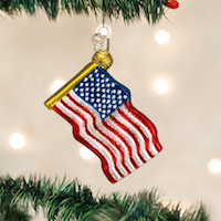 Star-Spangled Banner Old World Ornament