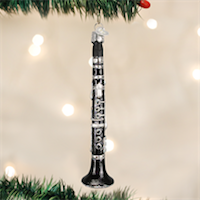 Clarinet Old World Ornament