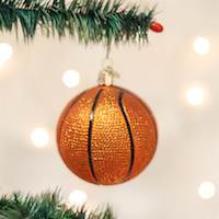Basketball Old World Ornament