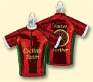 Bicycle Jersey Old World Ornament