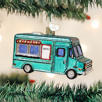 Food Truck Old World Ornament
